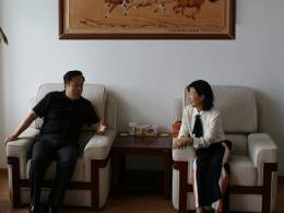 李世杰董事长会见中国进出口银行内蒙古自治区分行齐巍行长
