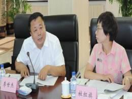 全国人大常委会副委员长、民革中央主席万鄂湘到东北再担保公司调研